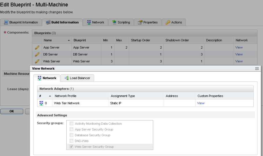 Practitioners guide to vrealize automation onethirdtwothirdslast multi machine blueprint configuration malvernweather Images